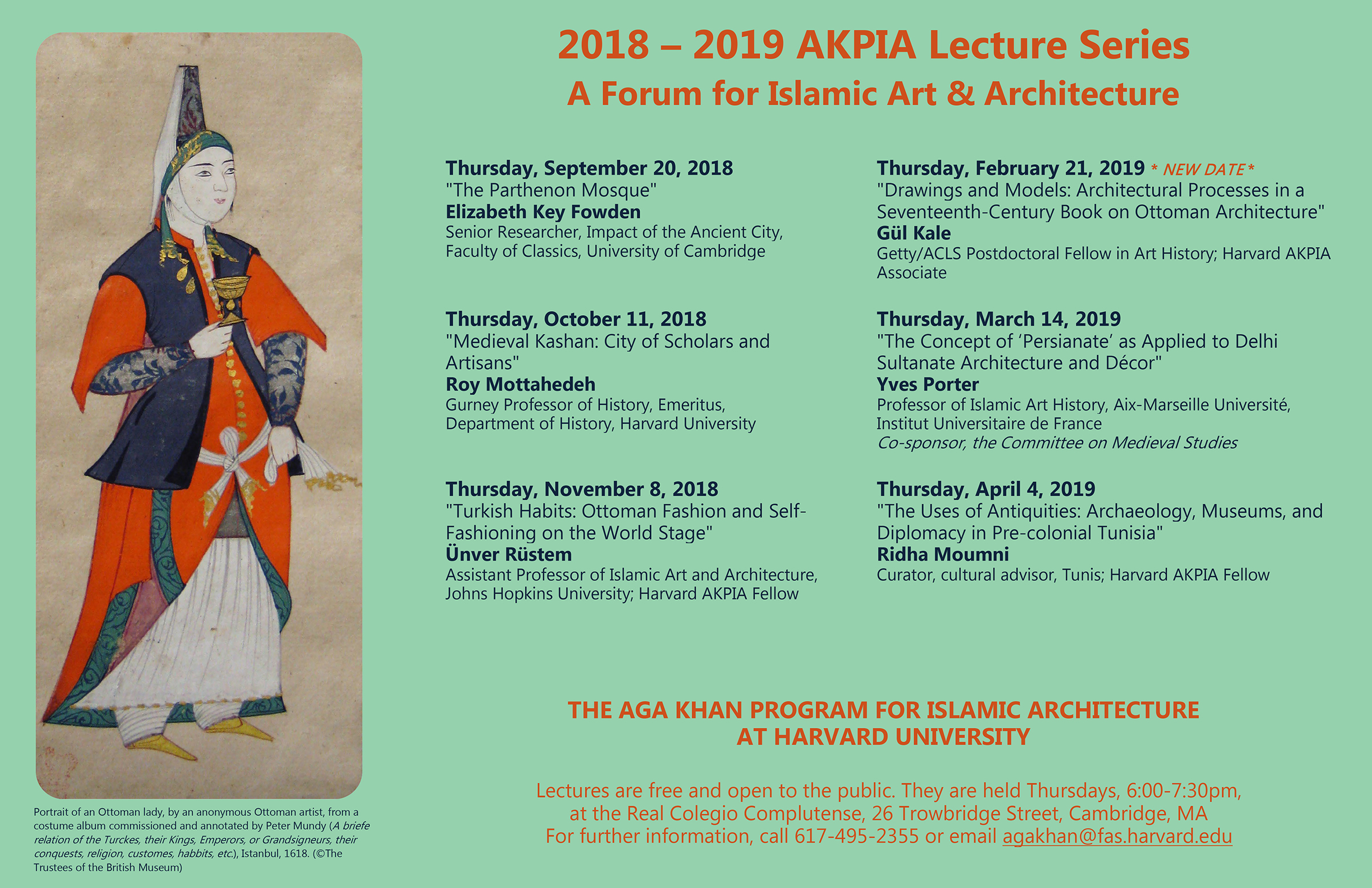 Previous Lectures | Aga Khan Program for Islamic Architecture